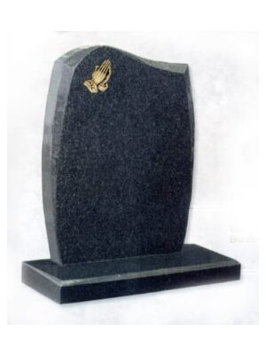 granite headstone grey