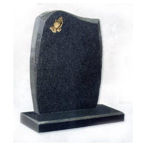 granite headstone grey