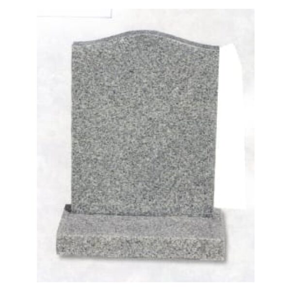 granite headstone cream