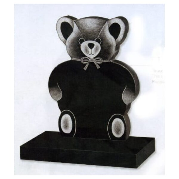 teddy bear headstone