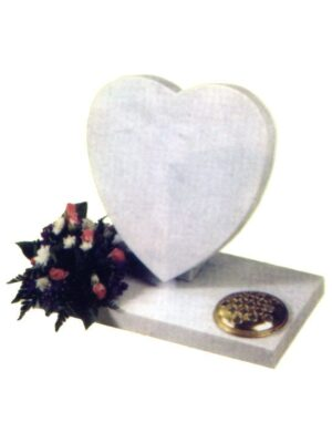 children's memorial white heart