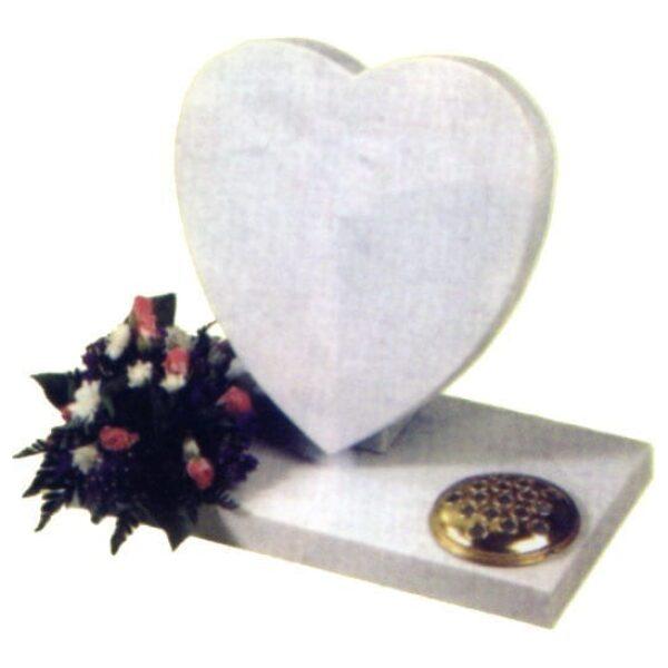 children's memorial white heart