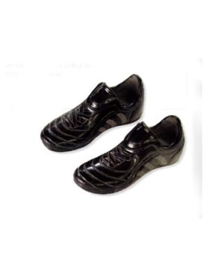 black shoes football boots