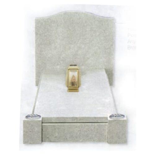 granite kerb set cream