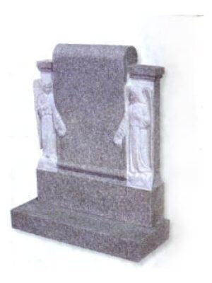 grey headstone